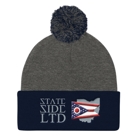 Ohio SSL Pom Pom Knit Cap