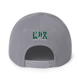 Concrete Streets W Evergreen Ave Snapback Hat