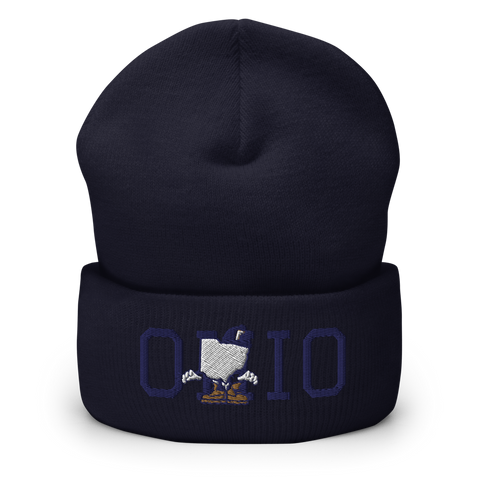 Freshbrand Ohio Stand Up Cuffed Beanie