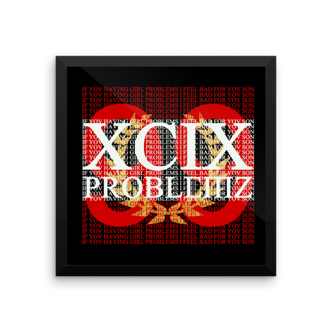 99 Problems Framed Print