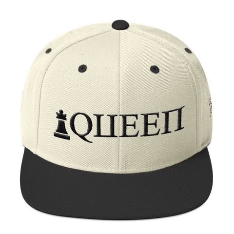 Queen Onyx Edition Snapback Hat