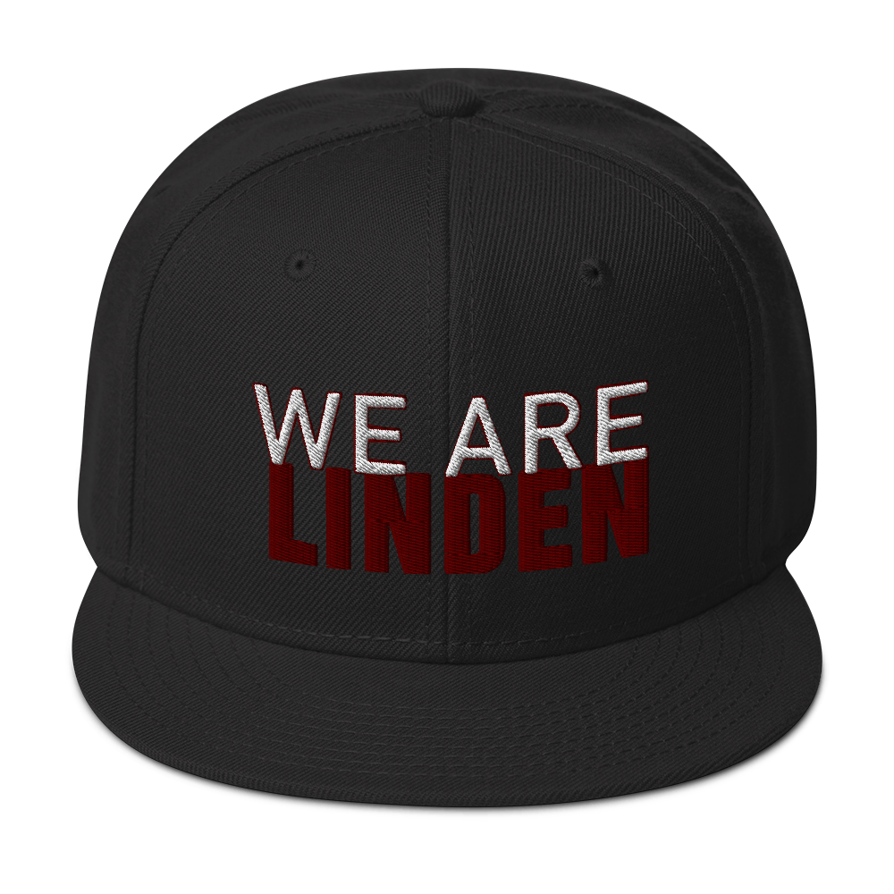 We Are Linden Snapback Hat