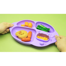 Marcus & Marcus Yummy Dips Suction Divided Plate - Willo