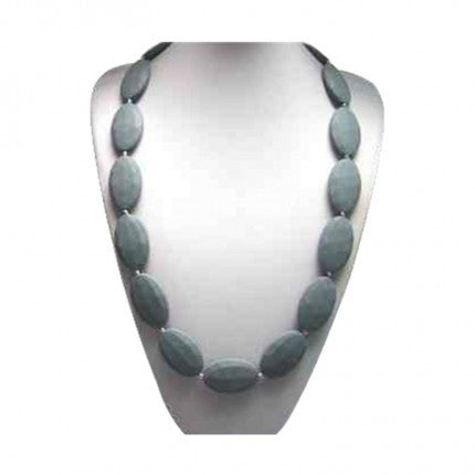 Grey Anastasia Collection By Jelly Sili Beads Teething Necklaces