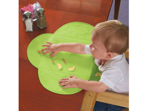 Purfeite Tiny Diner - Travel Rollable Placemat Green