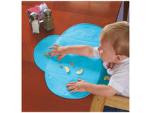 Purfeite Tiny Diner - Travel Rollable Placemat Blue