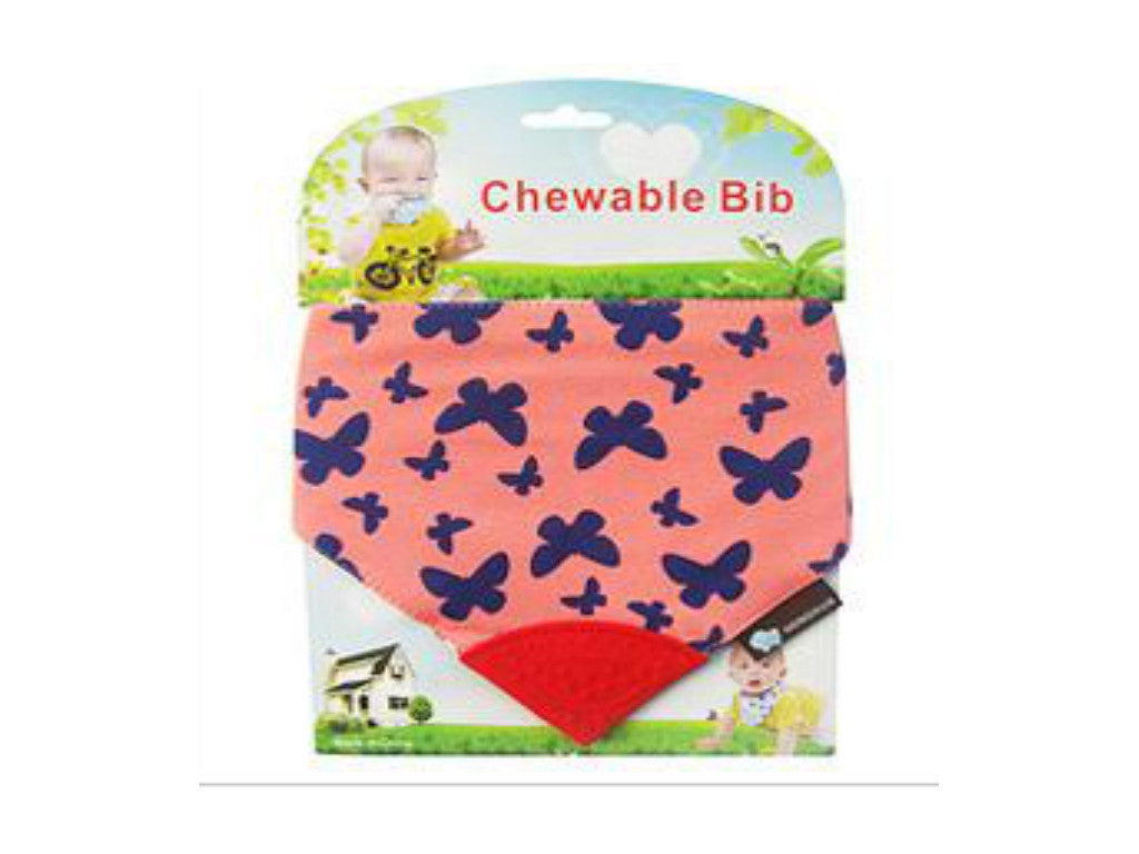 Chewable Bibs Butterfly