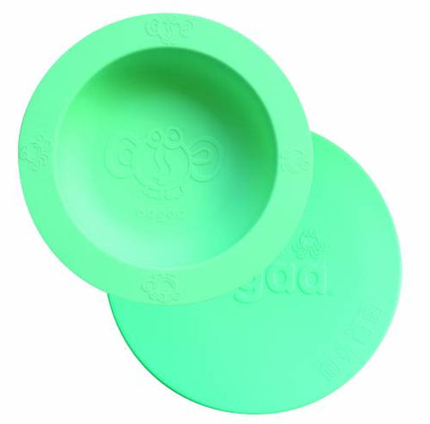 Oogaa Green Bowl with Green Lid