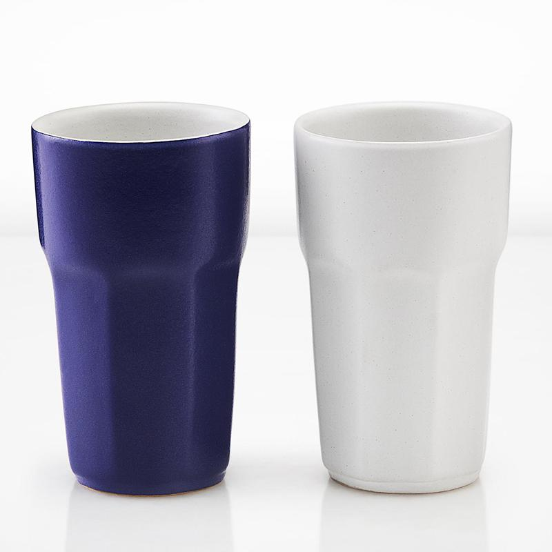 Bihag Gift Set Of Two Handmade Tumblers