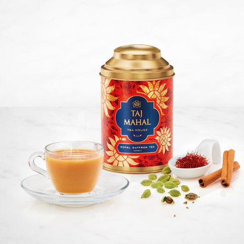 Taj Mahal Handcrafted Indian Tea Box