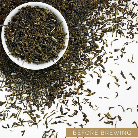 Darjeeling Whole Leaf Green Tea Gift Box
