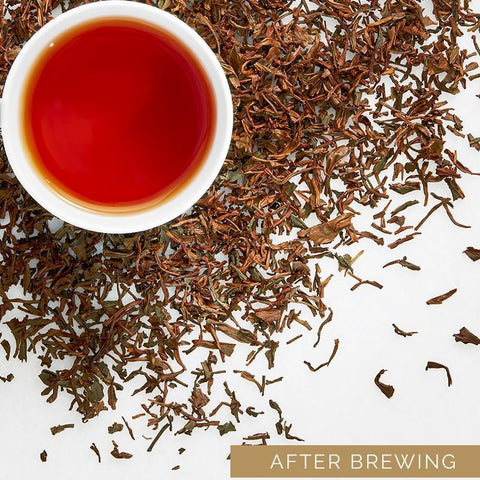 Assam Flaming Hue Tea & Darjeeling Whole Leaf Green Tea
