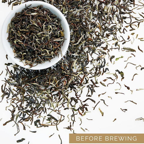 Darjeeling Whole Leaf White Tea & Darjeeling 1st Flush Tea
