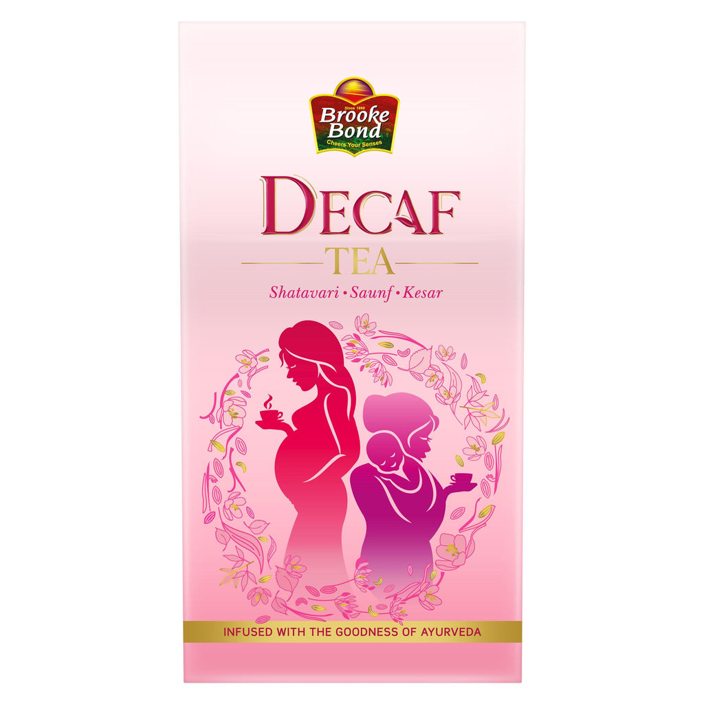 "DECAF Tea ""With goodness of Ayurveda"""