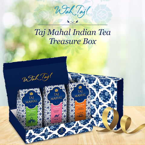 Taj Mahal Indian Treasure Tea  Box