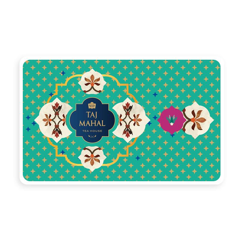 Taj Mahal Tea House Bronze e-Gift Card