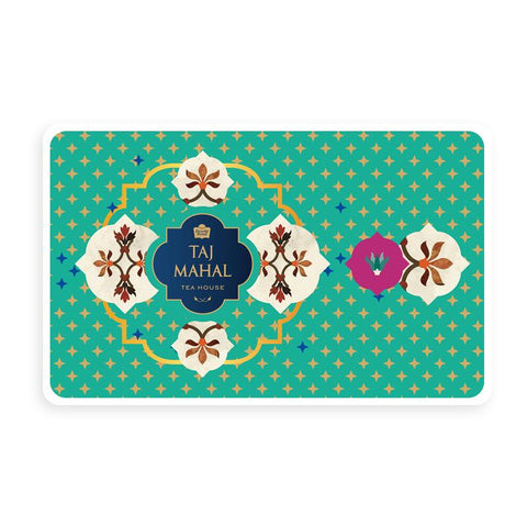 Taj Mahal Tea House Bronze Gift Card