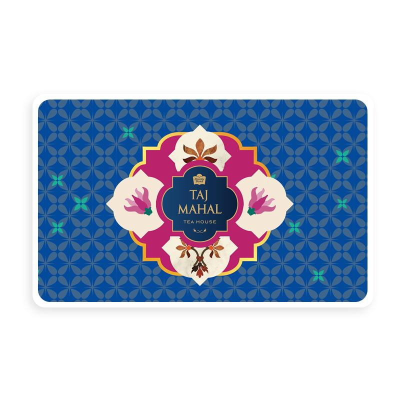 Taj Mahal Tea House Silver e-Gift Card
