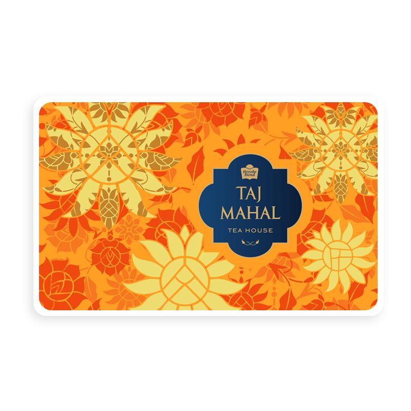 Taj Mahal Tea House Gold Gift Card