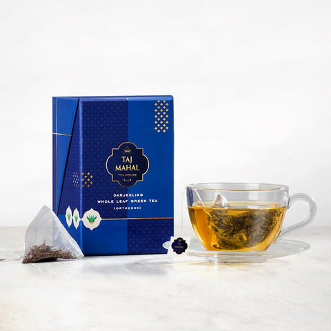 Darjeeling Whole Leaf Green Tea Bag