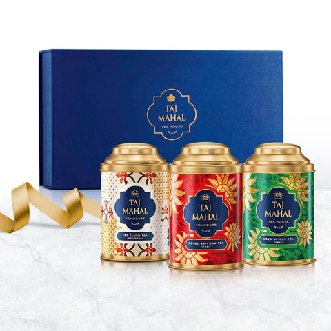 Taj Mahal Royal Gourmet Tea Collection Box