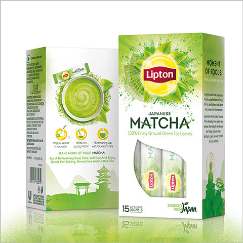 Lipton Japanese Matcha Green Tea - Pack of 3
