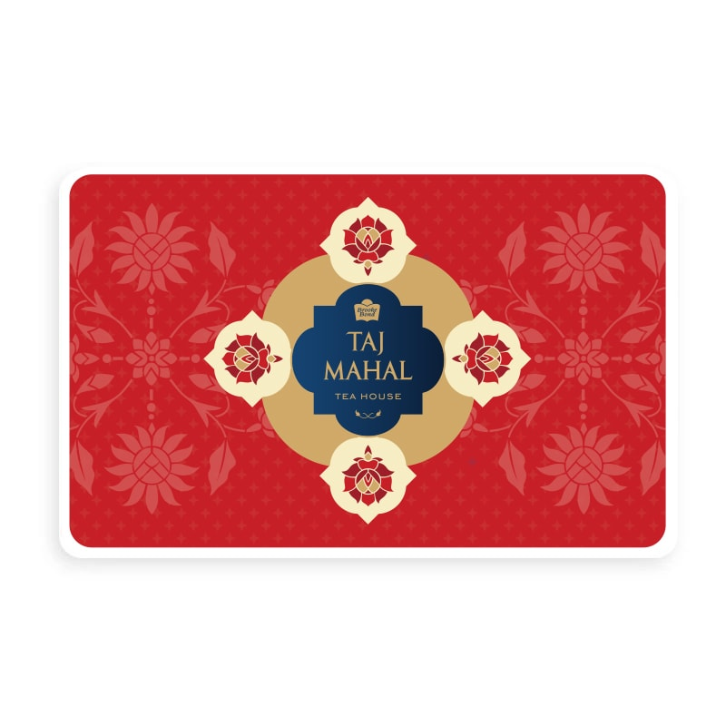 Taj Mahal Tea House Platinum Gift Card