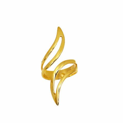 Eva - 18k Gold Plated Ring | LISTIC