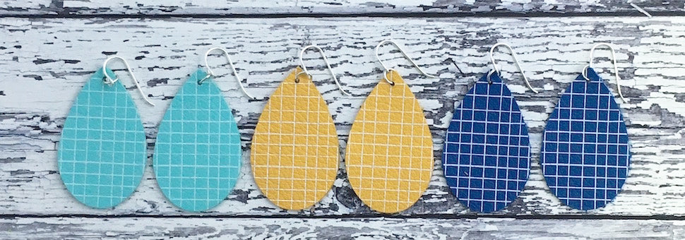 Spring/Summer Leather Earrings - Coming Soon