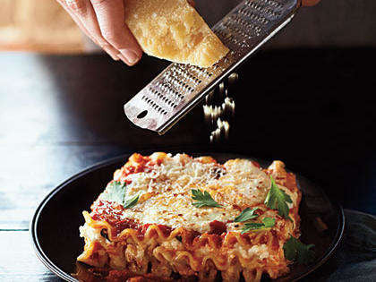 Triple Cheese Lasagne with Horopito