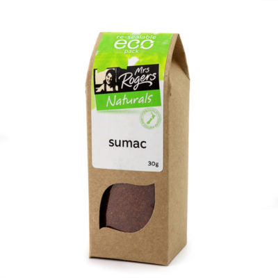 Sumac - is the new black