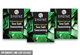 Rhayne Makrut Lime Leaf Sea Salt Seasoning