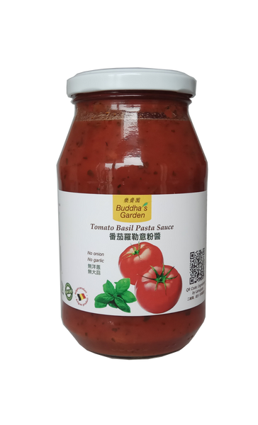 Vegetarian Tomato Basil Pasta Sauce - No garlic, onion