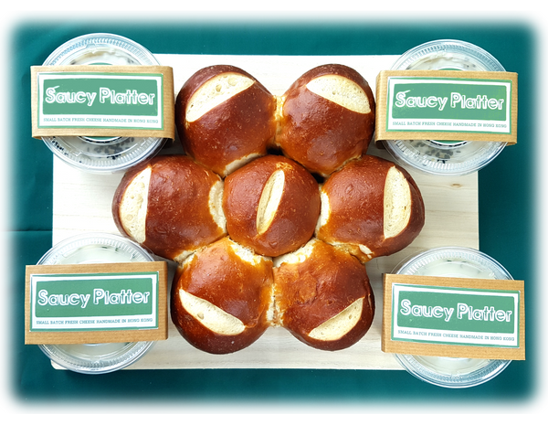 Cream Cheese - 150g X 4 Cream Cheese Set With Laugen Bread