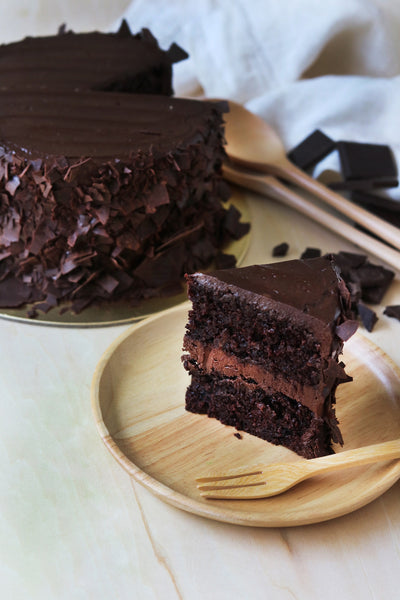 Real Dark Chocolate Cake