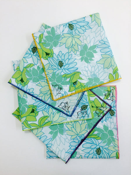 Handmade Handkerchief From Fabrics Waste