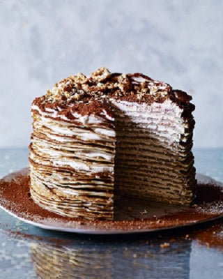 สูตร Chocolate Crepe Cake