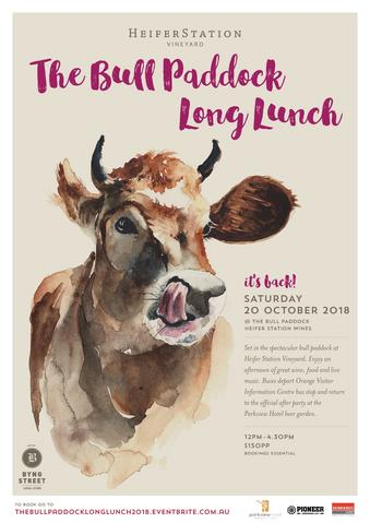 THE BULL PADDOCK LONG LUNCH 2018 - HEIFER STATION