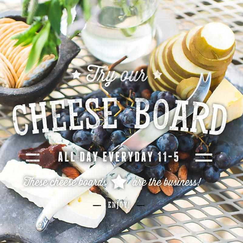 Try our Cheese Board