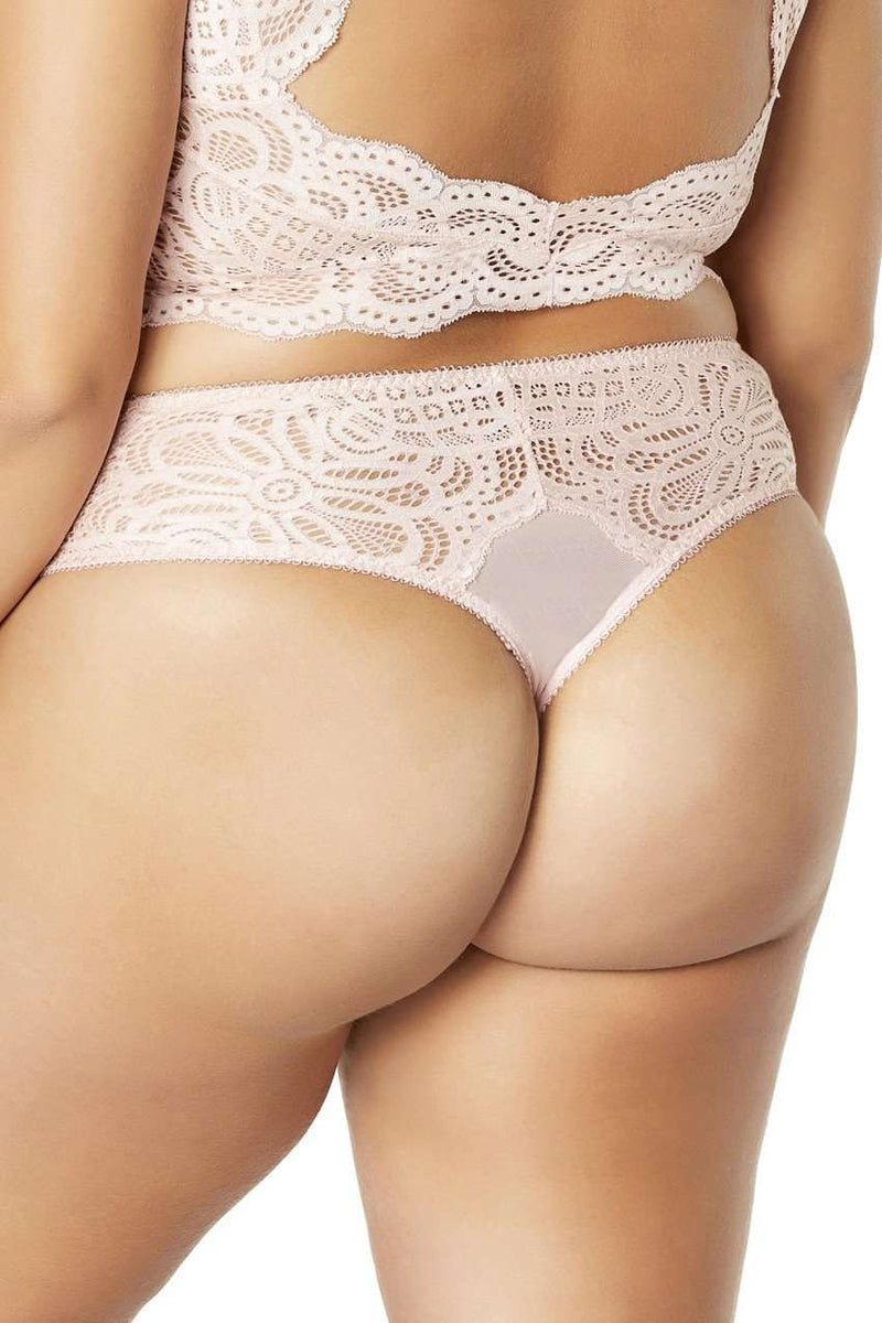 The Bohemian Lace Thong - Unlucky Lingerie