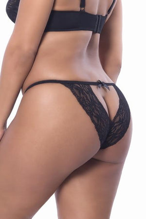 The Peek-A-Boo Lace Knicker