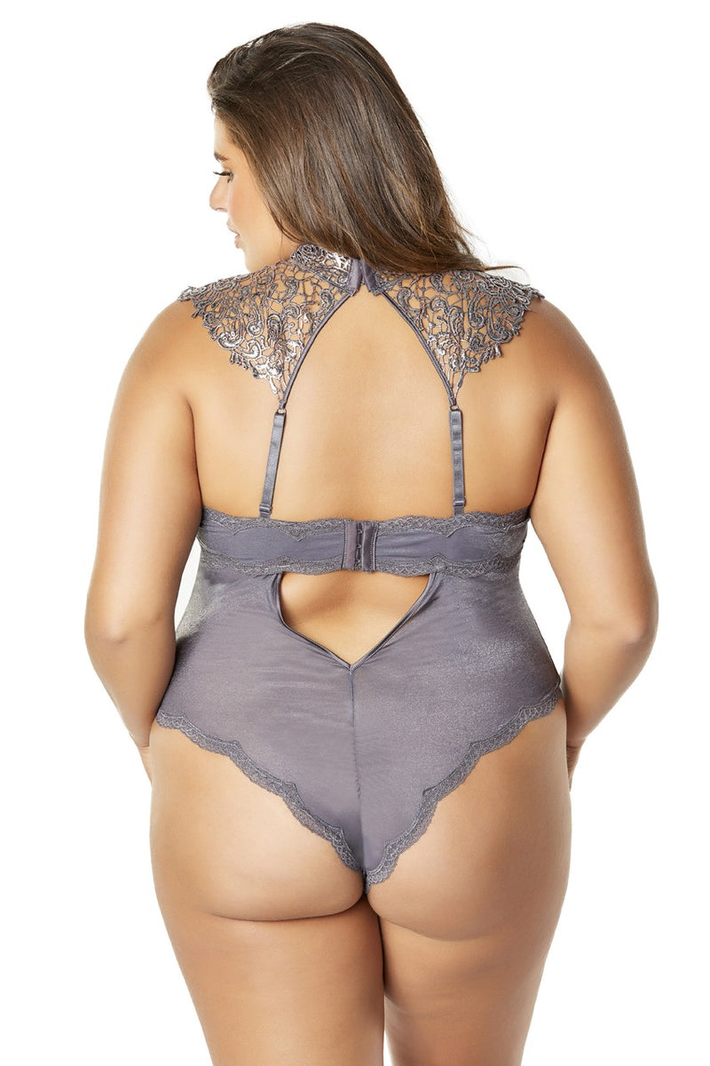 The Violet Luxe Bodysuit