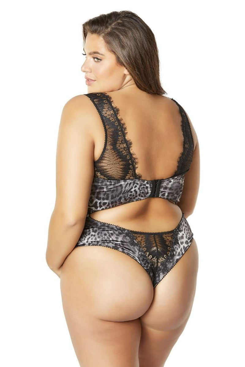 The Riva Eyelash Lace Bodysuit - Unlucky Lingerie