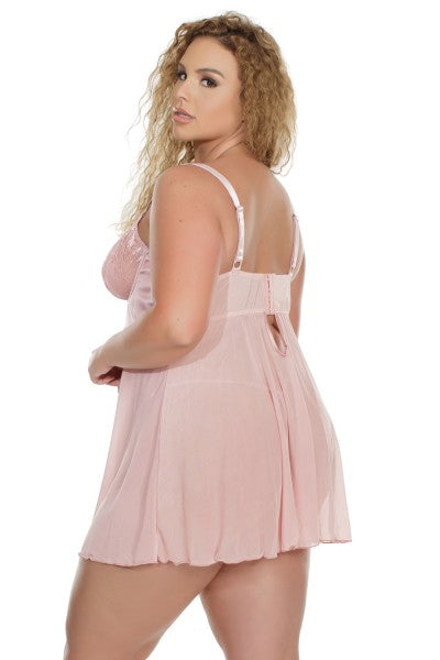 The Rose Dust Babydoll