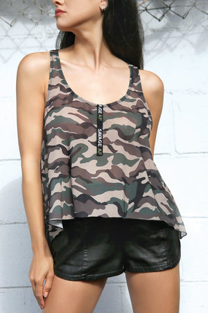 The Savage Camo Tank