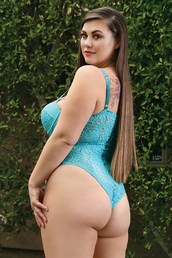 The Monroe Teddy in Teal