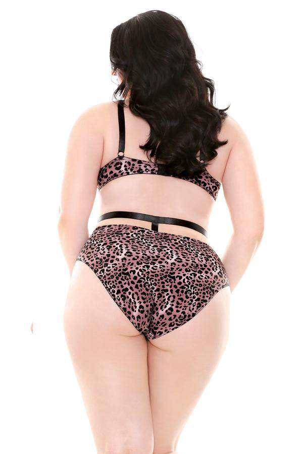 The Josi Retro Harness Set - Unlucky Lingerie