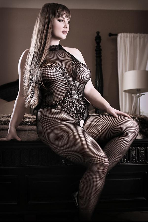 Back to Black Bodystocking