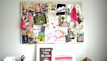 Vision Boards and Goals - Every day can be the time to set goals