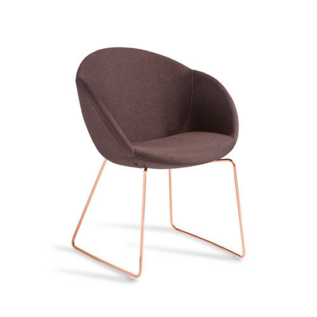 Amelia Chair Sled Base
